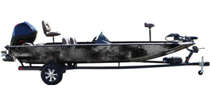 """Chameleon Night"" Camo Boat Wrap Kit"
