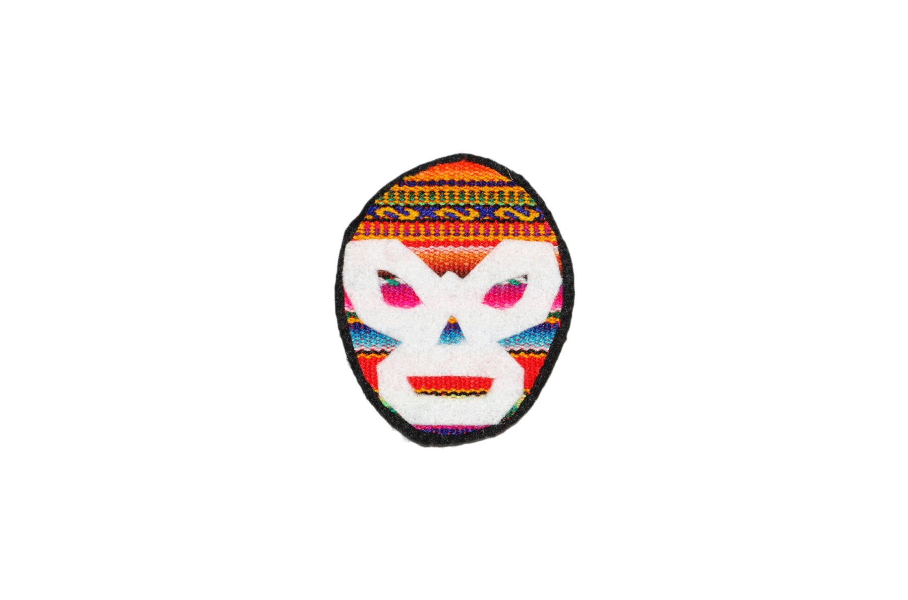 Luchador Mask Patch