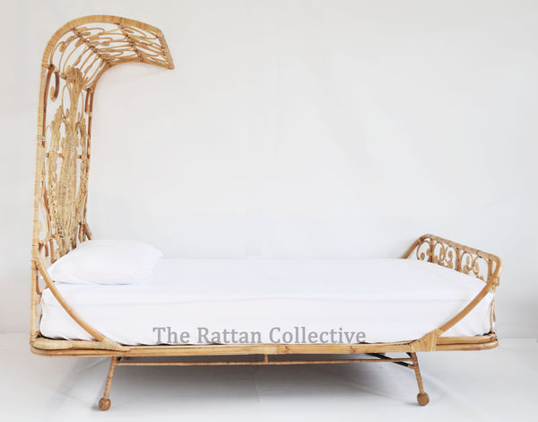 Rattan peacock bed byron bay single king single double hanging chair family love tree forty winks kids bed girls bed Spell Designs gypsy bohemian