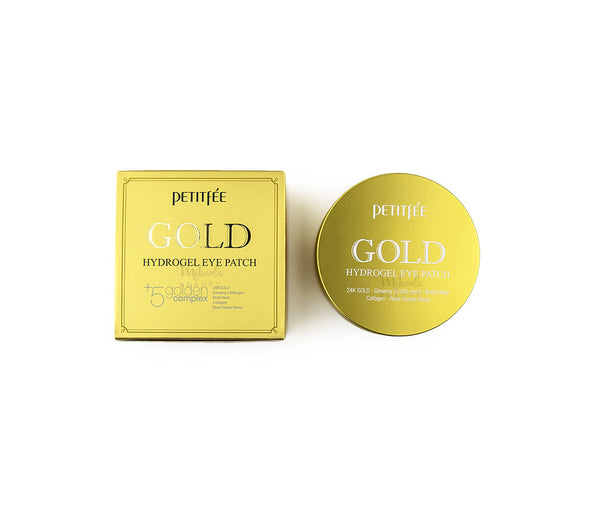 PETITFEE Gold Hydrogel Eye Patch | Korean Skincare Canada | Mikaela