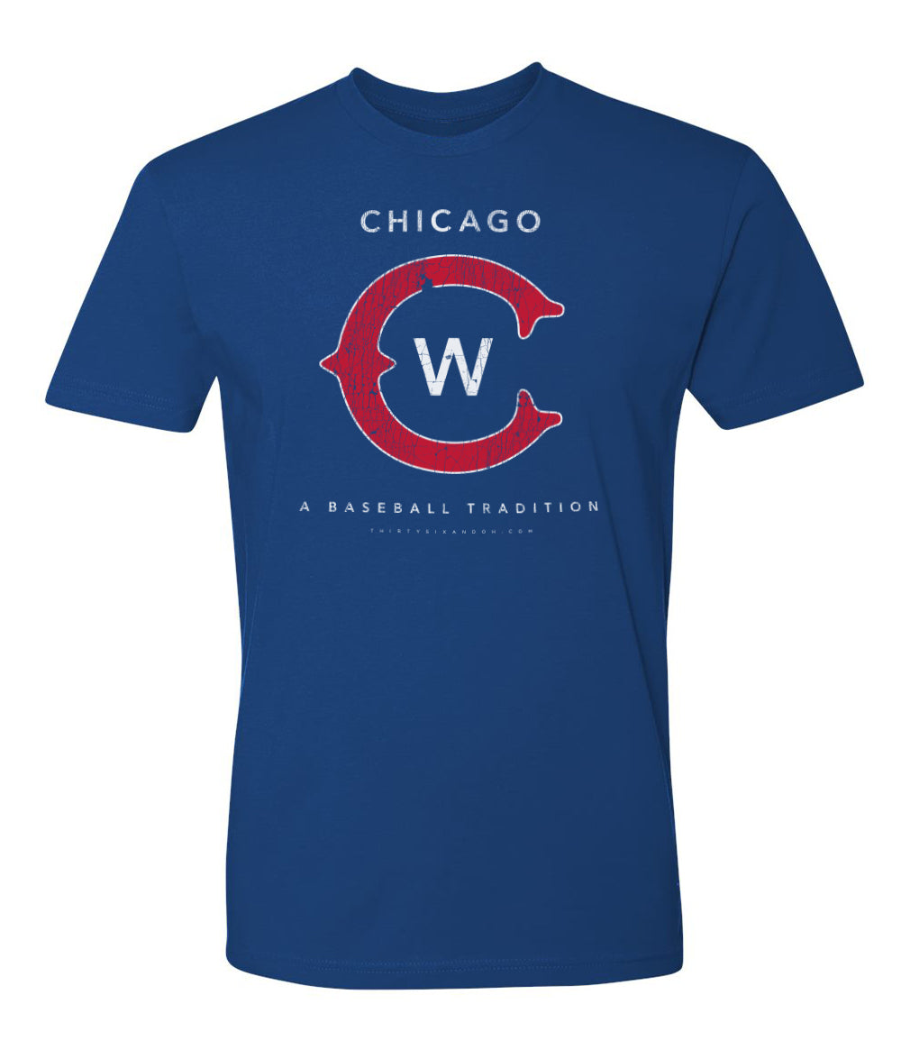 Chicago Baseball Short Sleeve T-Shirt - Thirty Six and Oh!