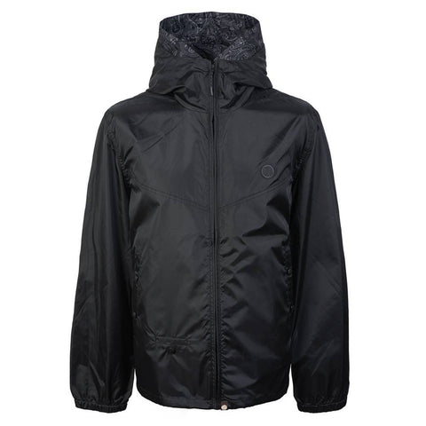 Pretty Green Lightweight Zip Up Hooded Jacket in Black Coats & Jackets Pretty Green