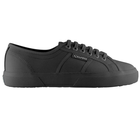 Superga 2750 EFGLU Shoes in Full Black Trainers Superga
