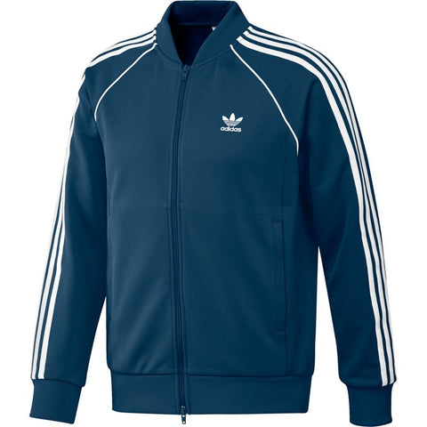 adidas DV1513 SST TT Full Zip Jacket in Legend Marine Coats & Jackets adidas