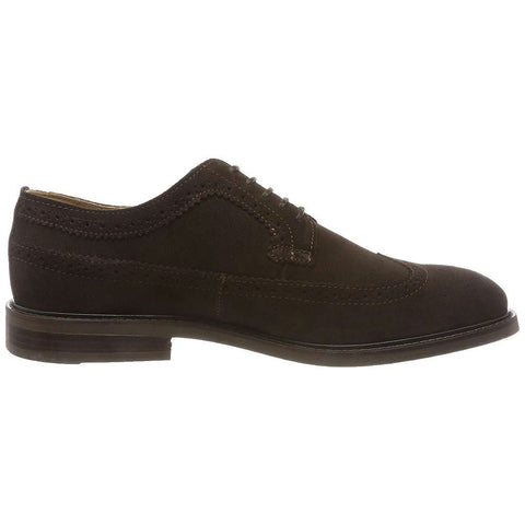 Gant Ricardo Suede Brogues in Dark Brown Shoes Gant
