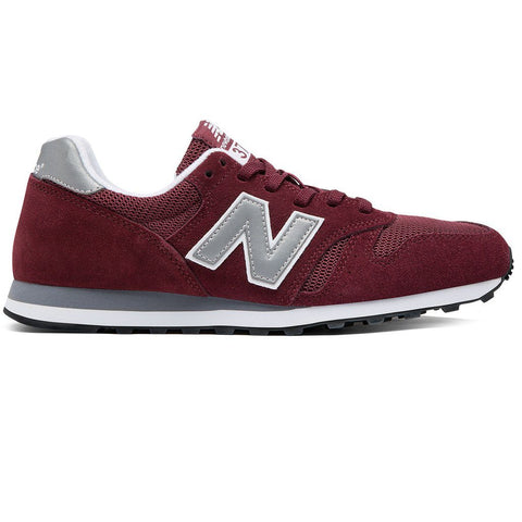 New Balance ML373BN Trainers in Burgundy Trainers Edwards Menswear