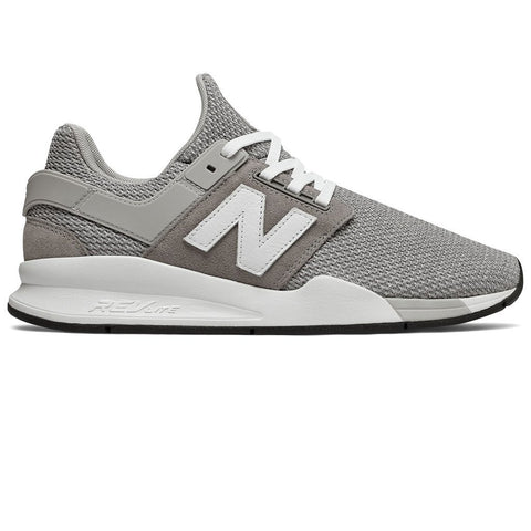 New Balance 247 Core Trainers in Grey Trainers Edwards Menswear