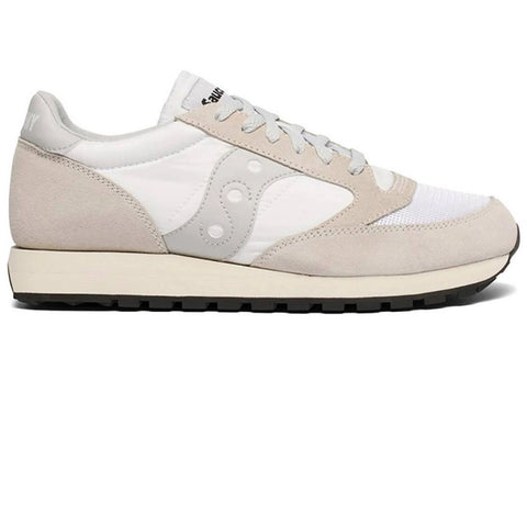 Women's Saucony Orginal Vintage Trainer in Cream Trainers Saucony