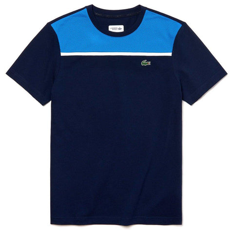 TH3472-9X4 Crew Neck Ultra Light Cotton T-Shirt in Navy / Blue T-Shirts Lacoste Sport
