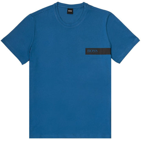 T-Shirt RN Relaxed Fit in blue T-Shirts BOSS
