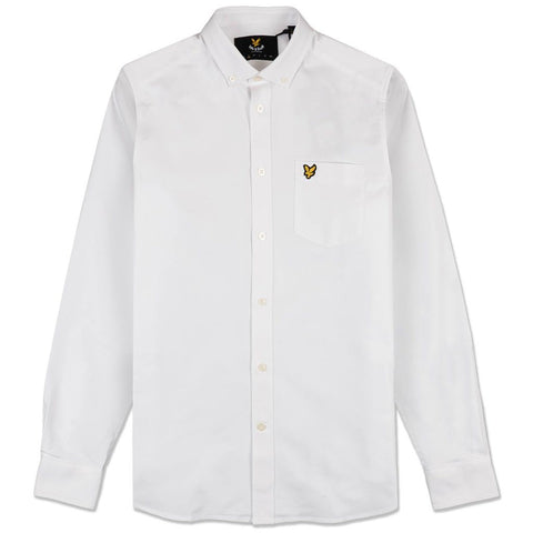 Oxford Shirt in White Shirts Lyle & Scott