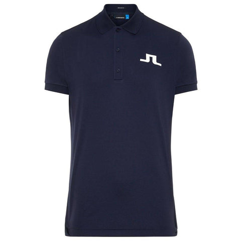 J. Lindeberg M Big Bridge Reg Fit TX Jersey Polo Shirt in Navy Polo Shirts J. Lindeberg