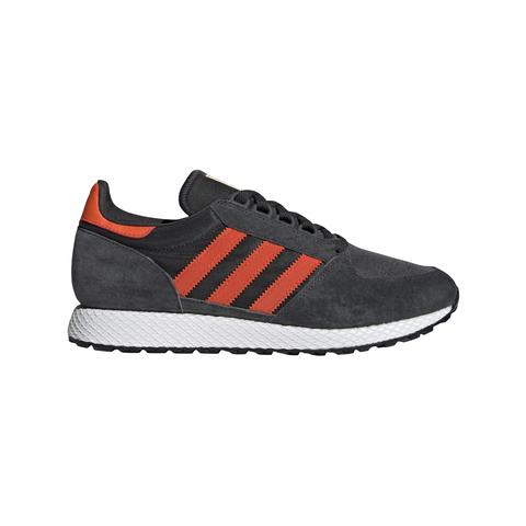 BD7940 Forest Grove in Carbon/ Active Orange/ Easy Yellow Trainers adidas