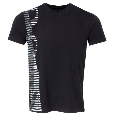 Tee 9 Stretch Cotton Regular Fit T-Shirt in Black T-Shirts BOSS