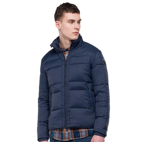 Replay Jacket in Blue Coats & Jackets Replay