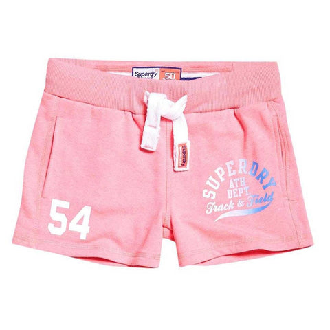 Superdry Womens Field Lite Short in Casette Pink Snowy Shorts Ladies Superdry