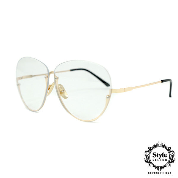 -VENICE ( Clear w/ Gold Frame )