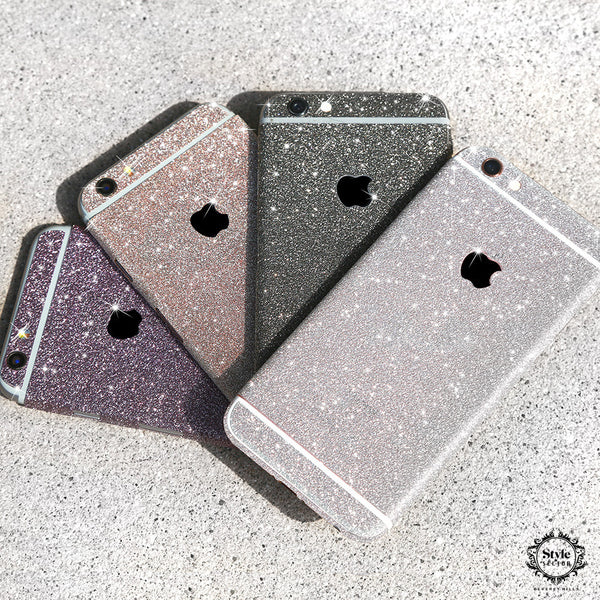 - Diamond Glitter Decals + FREE Clear Protective Case