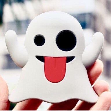 -Emoji Snapchat Ghost Power-Bank Charger
