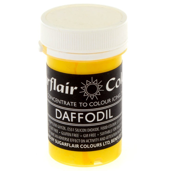 Sugarflair Paste Colours - Pastel Daffodil- 25g