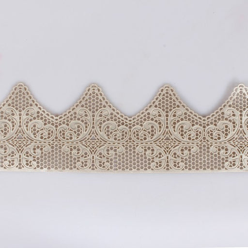 Edible Art Deco Cake Lace - Pearl