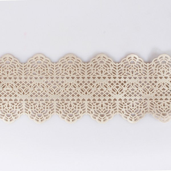 Edible Vintage Cake Lace - Pearl