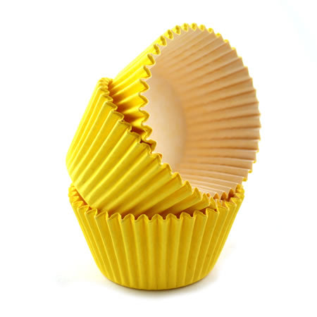 High Quality Baking Muffin/ Cupcake Cases- Yellow