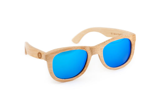 8 Ball Wooden Bamboo Sunglasses