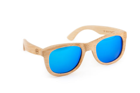 Airplane Wooden Bamboo Sunglasses