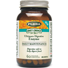 Flora Daily Maintenance Enzyme 60 vegetarian  capsules