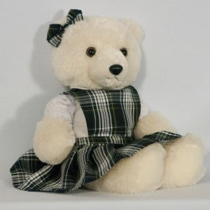 18? DOLL PINAFORE TOP JUMPER WITH BOW (BEAR NOT INCLUDED)