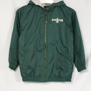 PINEWOOD PERFORMER NYLON JACKET WITH EMBROIDERED LOGO