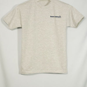 ST. ANDREW SHORT SLEEVE T-SHIRT WITH SILKSCREENED LOGO