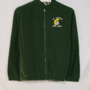 ST. JOSEPH MOUNTAIN VIEW FULL ZIP FABRI-TEC FLEECE WITH EMBROIDERED LOGO