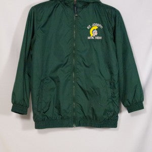 ST. JOSEPH MOUNTAIN VIEW PERFORMER NYLON JACKET WITH EMBROIDERED LOGO