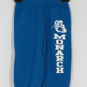 MONARCH CHRISTIAN SCHOOL TODDLER 7.5 Oz FLEECE SWEATPANT WITH SILKSCREENED LOGO