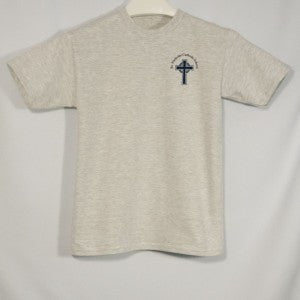 ST. NICHOLAS UNISEX SHORT SLEEVE T-SHIRT WITH SILKSCREENED LOGO