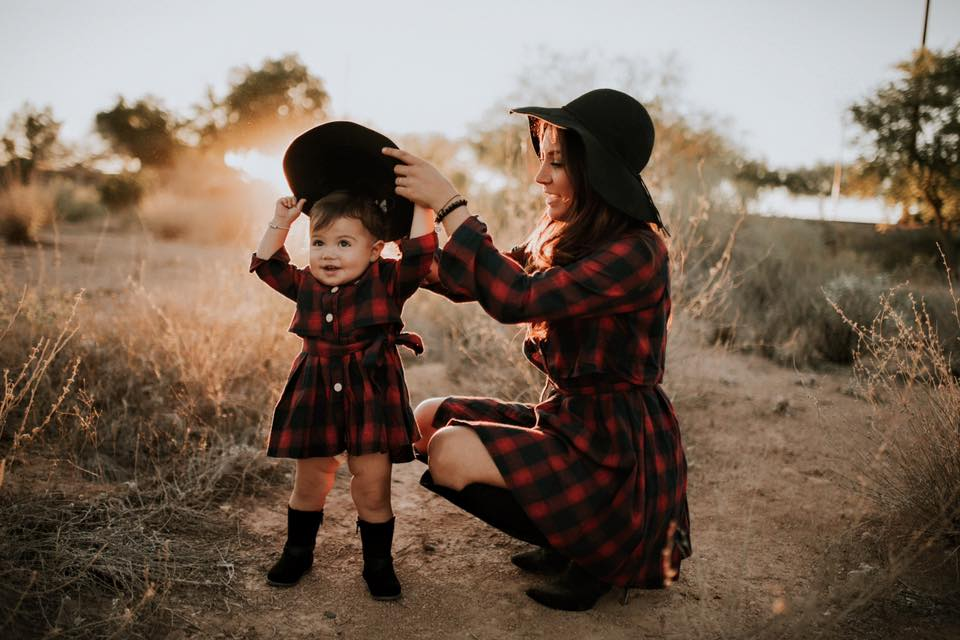 Valerie Plaid Mommy & Me Dresses