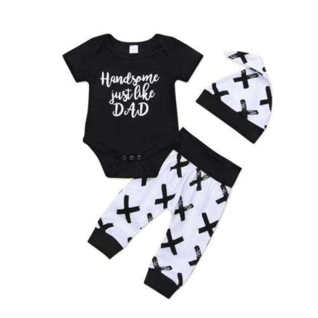 Handsome Just Like Dad 3 Pc Set