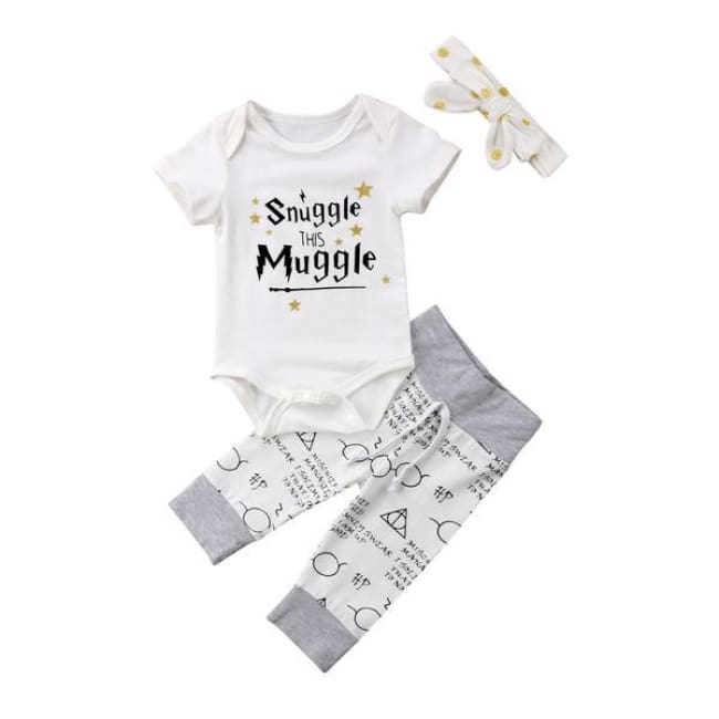 Snuggle This Muggle Girls Set - 4-6M - Set
