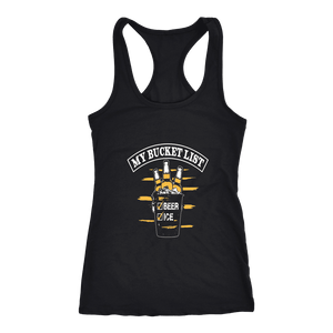 Beer Shirt - My Bucket List-T-shirt-Spyder Deals