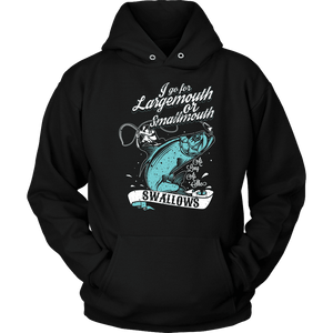 Fishing Hoodie - Largemouth Or Smallmouth