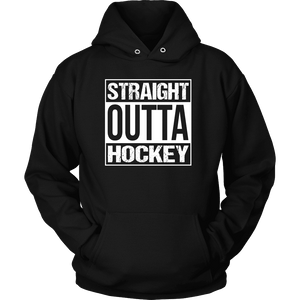 Hockey Shirt - Straight Outta Hockey-T-shirt-Spyder Deals