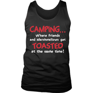 Limited Edition - Camping When Friends and Marshmallows Get Toasted at the Same time-T-shirt-Spyder Deals