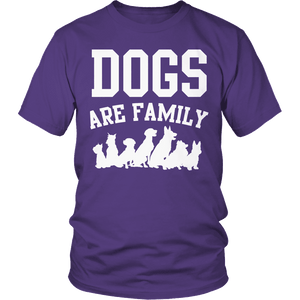 Limited Edition - Dogs are Family-T-shirt-Spyder Deals