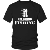 Limited Edition - I'm Going Fishing-T-shirt-Spyder Deals