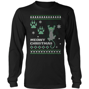 Limited Edition - Meowy Christmas-T-shirt-Spyder Deals