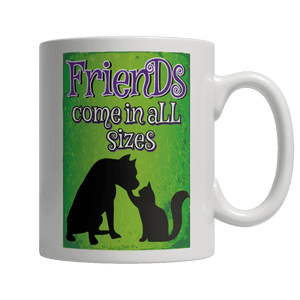 Limited Edition Mug - Friends Come In All SIzes-Drinkwear-Spyder Deals