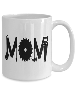 Mom Mug | White - Mom Tools-Coffee Mug-Spyder Deals