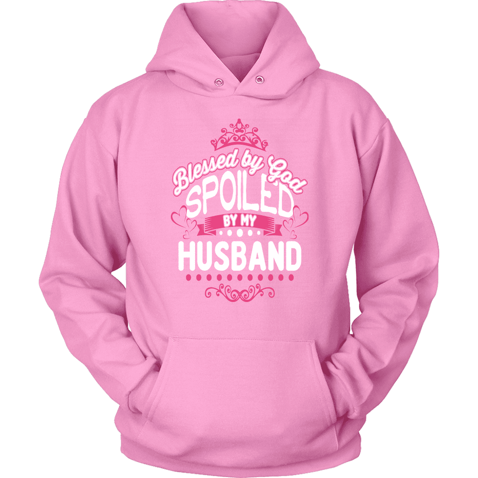 Wife Hoodie - Spoiled By My Husband